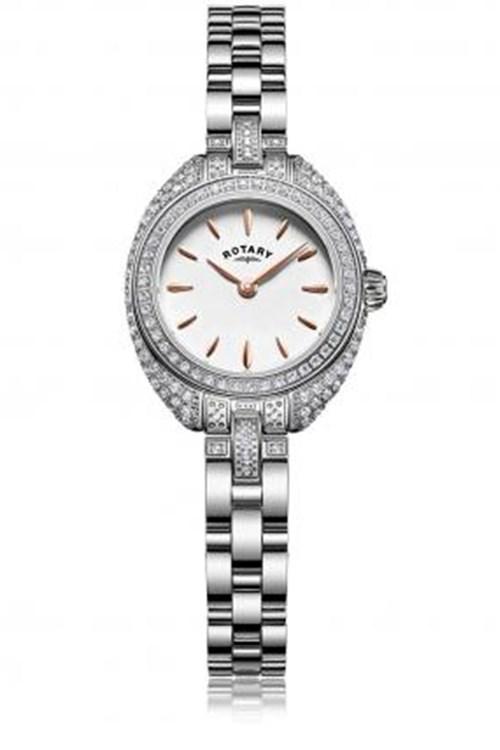 Rotary Petite Stone Bracelet Watch