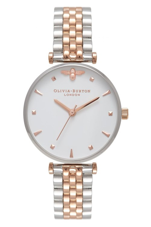 Olivia Burton Queen Bee T-Bar Watch