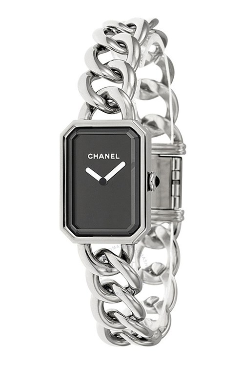 Chanel Premiere Black Dial Stainless Steel