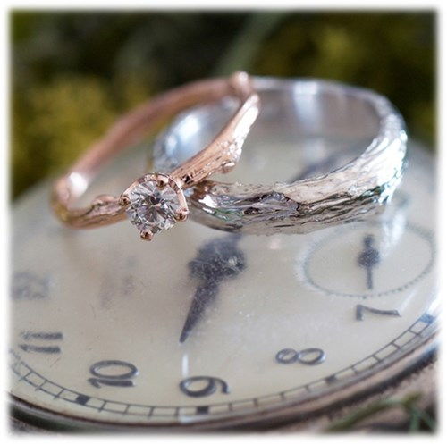 The Twig Leaf Ring