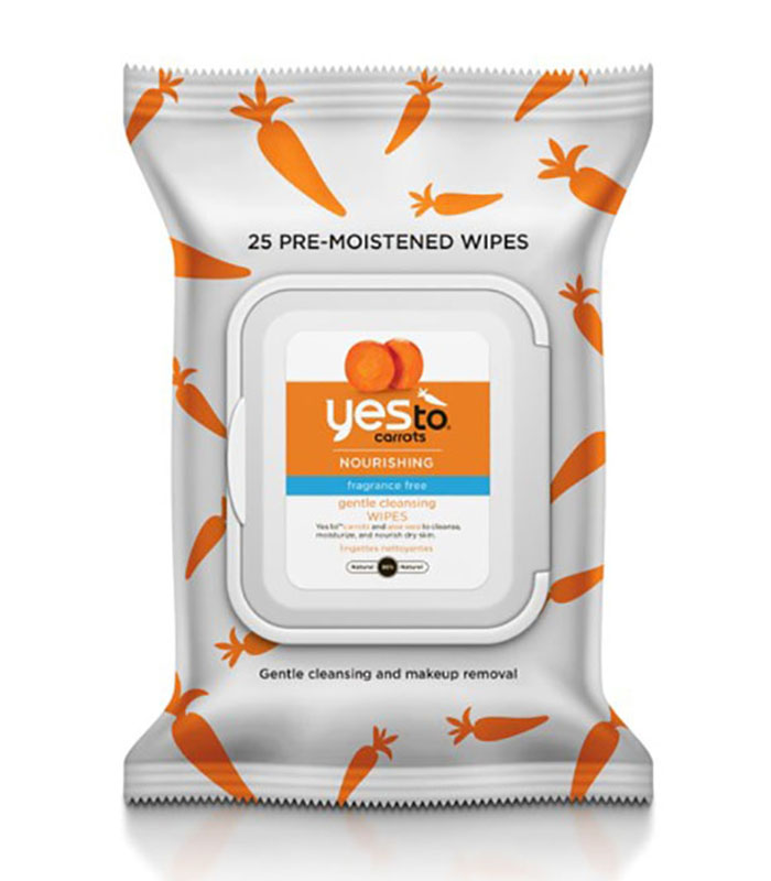 Yes To Carrots Face-wipes