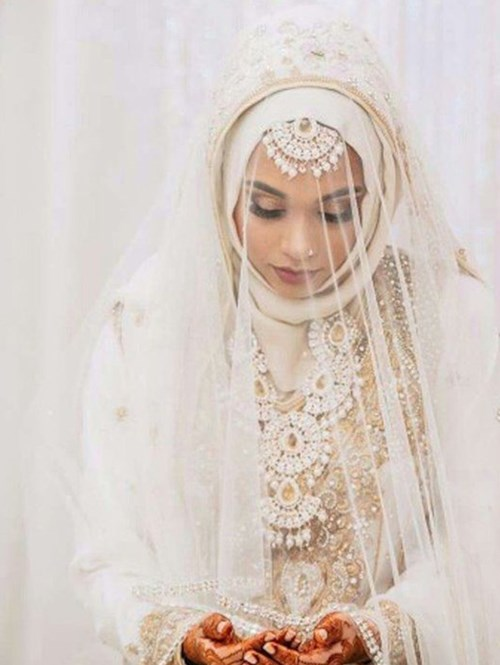 10 Bridal Hijab Styles For The Big Day Bridals Pk