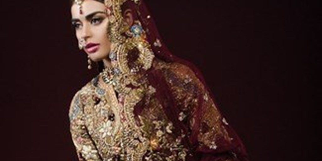 'A Rouge Affair' – A Dreamy Range of Bridals by Tena Durrani