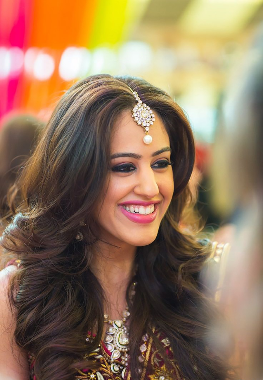 Simple Hairstyles For Mehndi , simple hair style