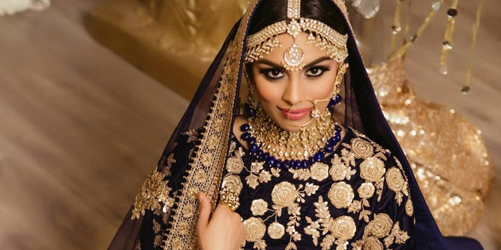 Color Contrasting Ideas For Your Bridal Jewelry And Lehnga
