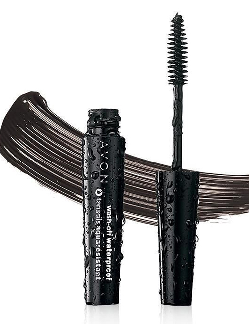 Wash-Off Water Proof Mascara- Avon