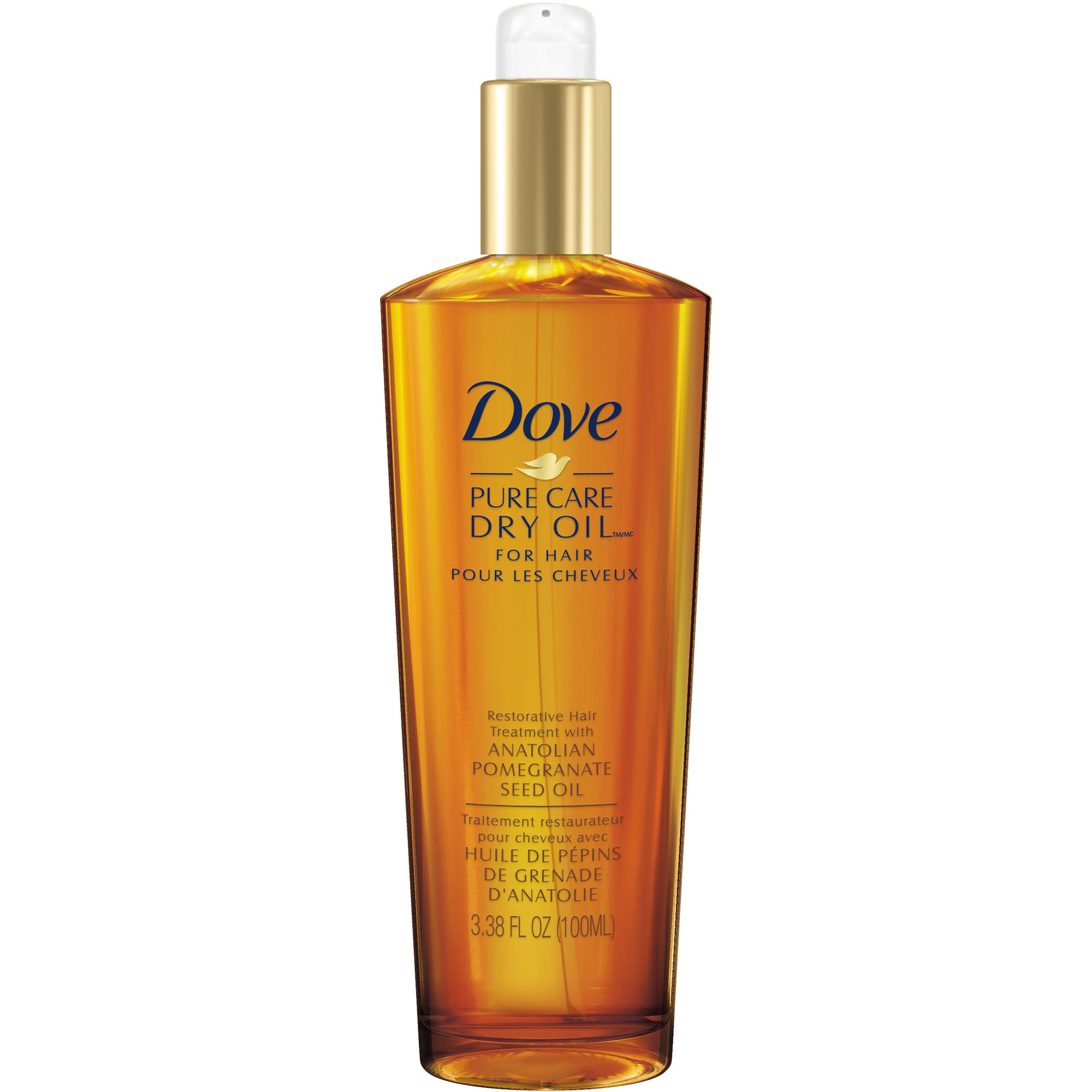 Dove Dry Oil, Pure Care Restorative Hair Treatment 3.38 oz, $32.96