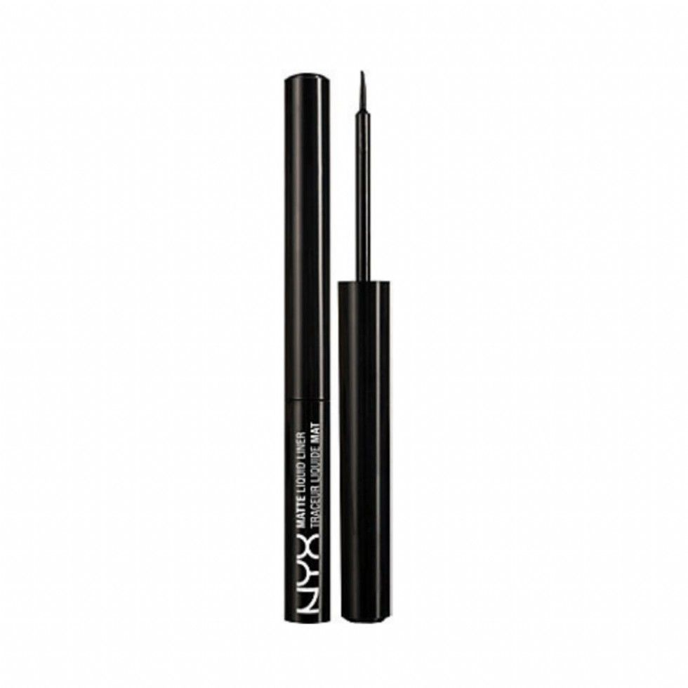 NYX Professional® Makeup Matte Liquid Liner Black, $5