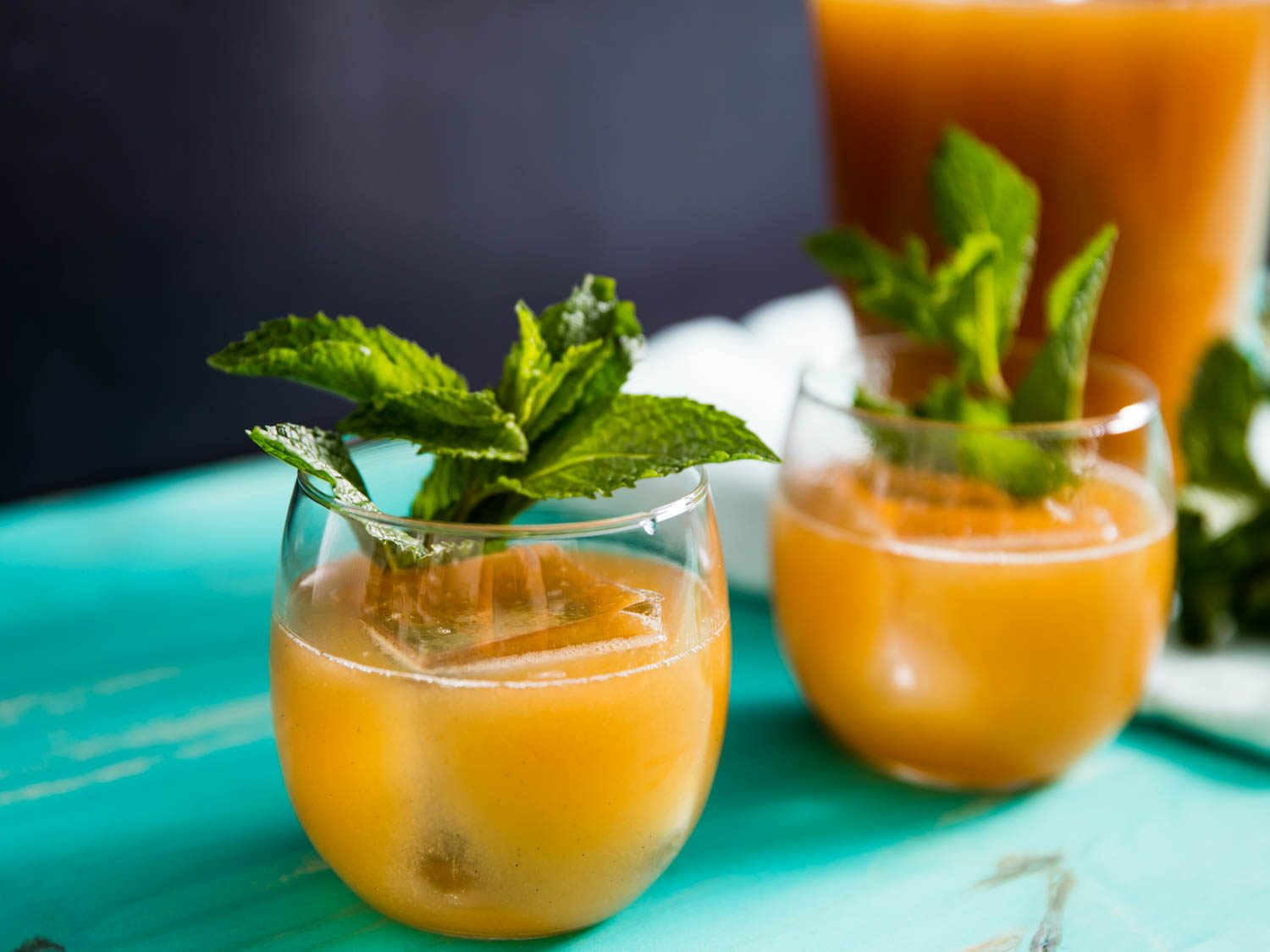 Make A Statement By Serving These Refreshing Drinks