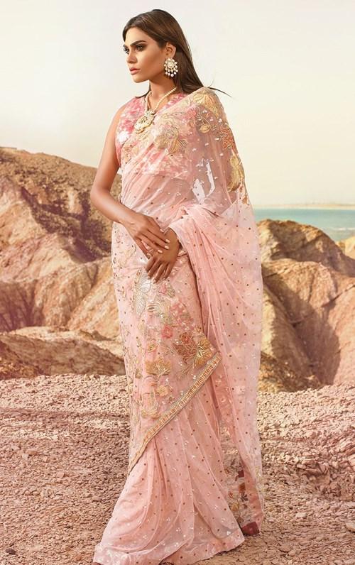 Palace Rose Sari – Tena Durrani