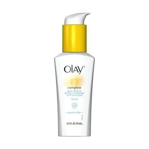 Olay Complete Daily Defense All Day Moisturizer With Sunscreen SPF30 Sensitive Skin (Pack of 2), $12.29