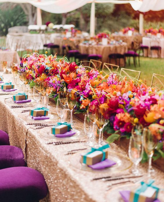 5 Décor Palettes That You Must Opt For Your Wedding