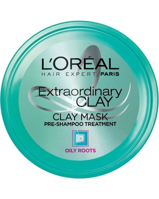 Extraordinary Clay Pre-Shampoo Mask, $6.99