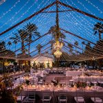 String Lights And Chandeliers For Your Wedding Venue