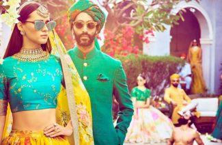 The Addition Of Sunshades In The Wedding Attire Is The Most Chic Trend To Happen In Years