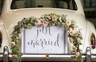 Decorating Your Wedding Car Has Never Been More Fun!