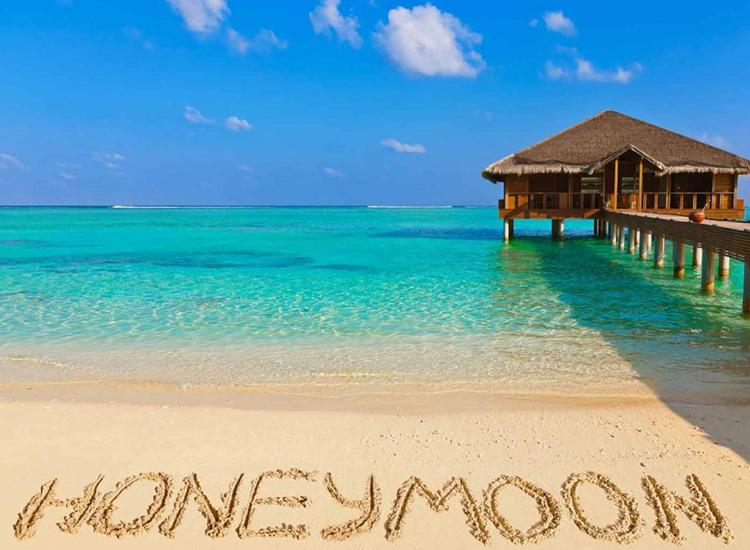 1.Beach Honeymoon
