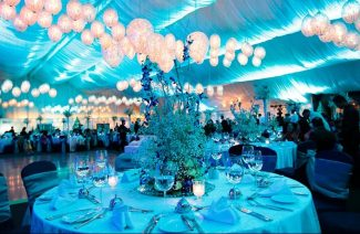 Here's How To Follow The Blue Color Theme For Your Wedding