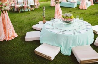 Floor Seating Arrangement Is Back And We Are So In Love With It All Over Again!