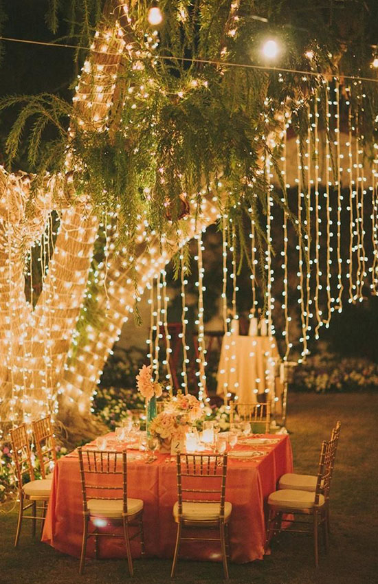 11.Be Creative with Fairy Lights!
