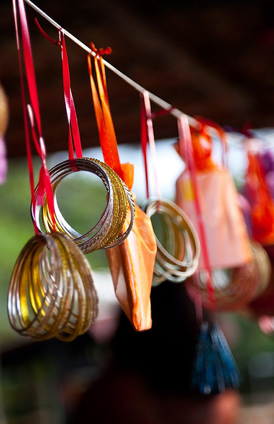 16.Bangles: A New Trend for Mayun Decor