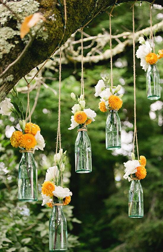 10.Hanging Bottles