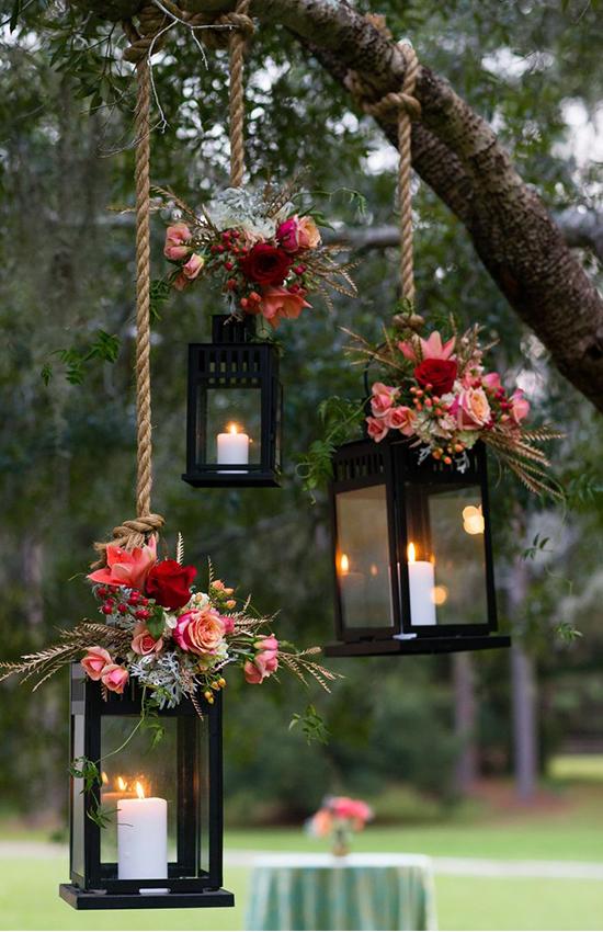 1.Illuminated lanterns