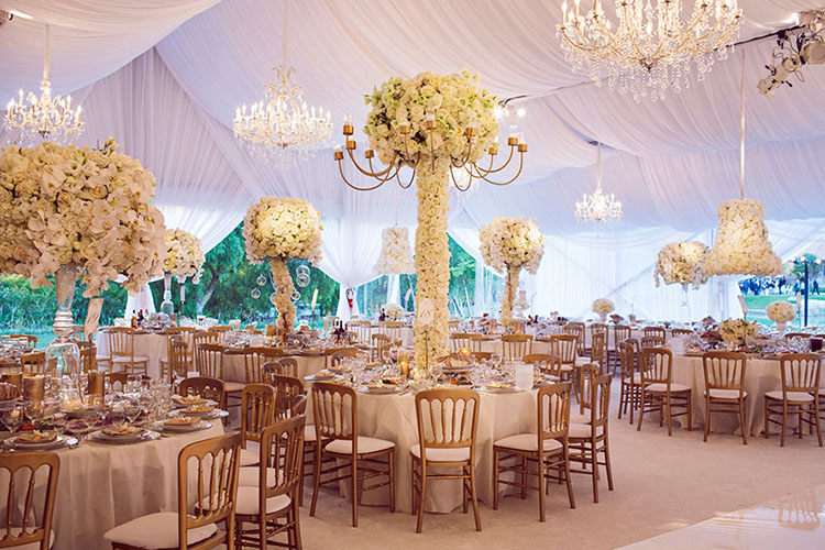 table decor and floral hangings.jpg