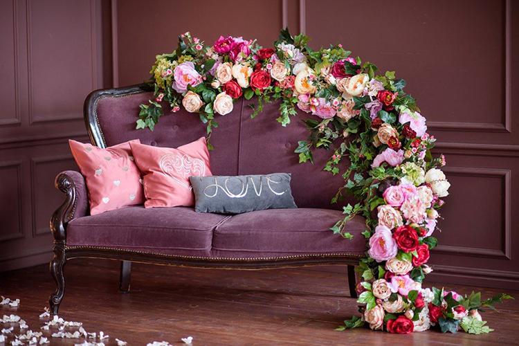13.   Vintage Sofa: