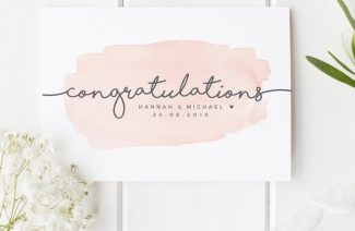6 Tips For Writing A Thoughtful Card To Give To The Bride And Groom On Their Wedding Day