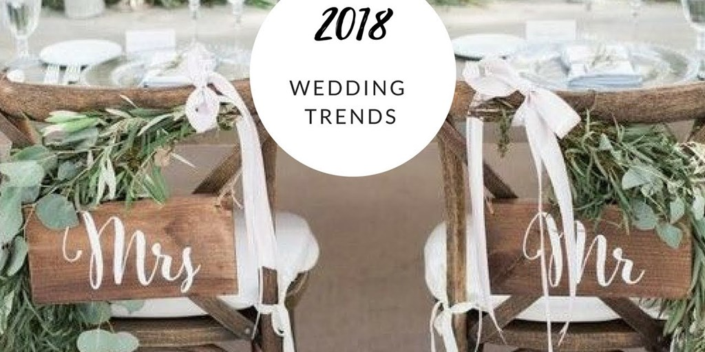Wedding Décor Trends You Would See in 2018