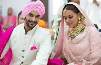 We Are In Love With How Neha Dhupia Looked At Her Wedding!