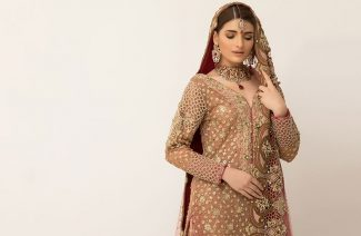 The Old World Charm Of Ayesha Ibrahim's Latest Bridals Has Our Heart