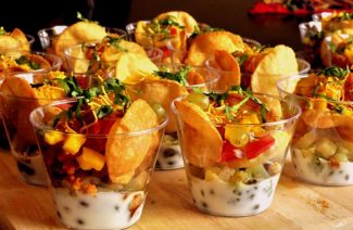 The Coolest Ways To Serve Aloo Chaat On Your Mehndi