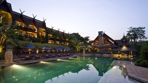 7.	Anantara Golden Triangle Elephant Camp & Resort, Thailand