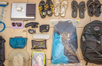 Backpack List for Groom: Anatomy of His Honeymoon Suitcase