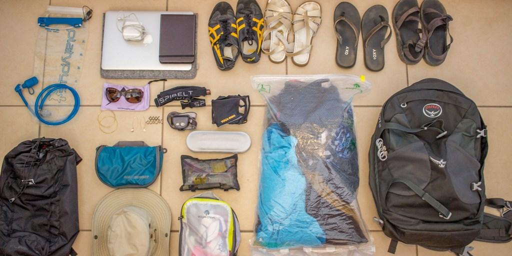Backpack List for Groom: Anatomy of His Honeymoon Suitcase