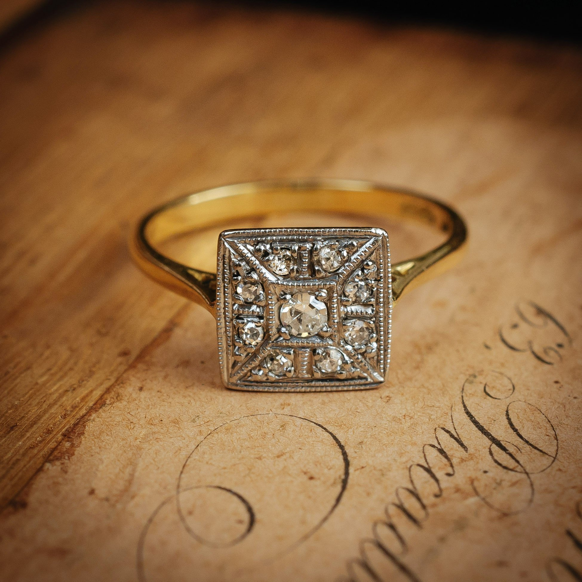 Antique Diamond Engagement Rings For Your Old Soul Nature