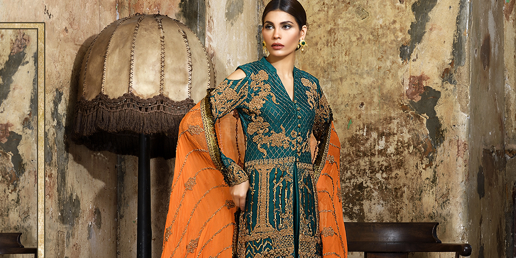 Asim Jofa's 'Statement Of The Season' Embroidered Collection Is Turning Heads!