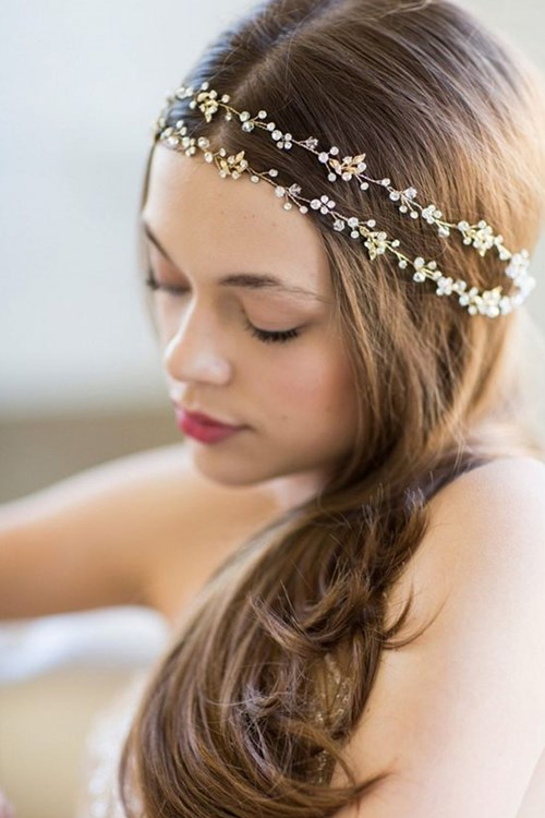 Double Banded Halo Headpiece