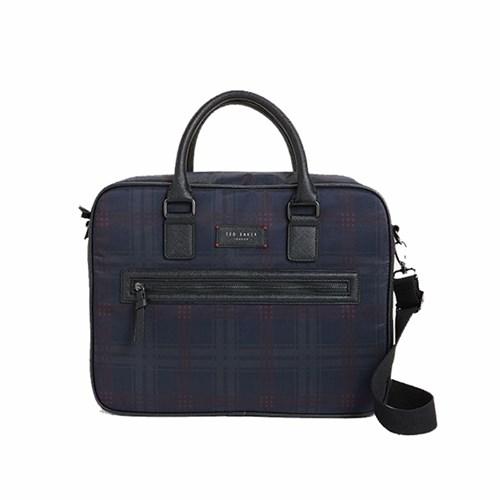 Blue Checked Messenger Bag – Ted Baker