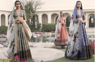 Benarsi Lehnga To Add That Extra Charm At Your Mehndi