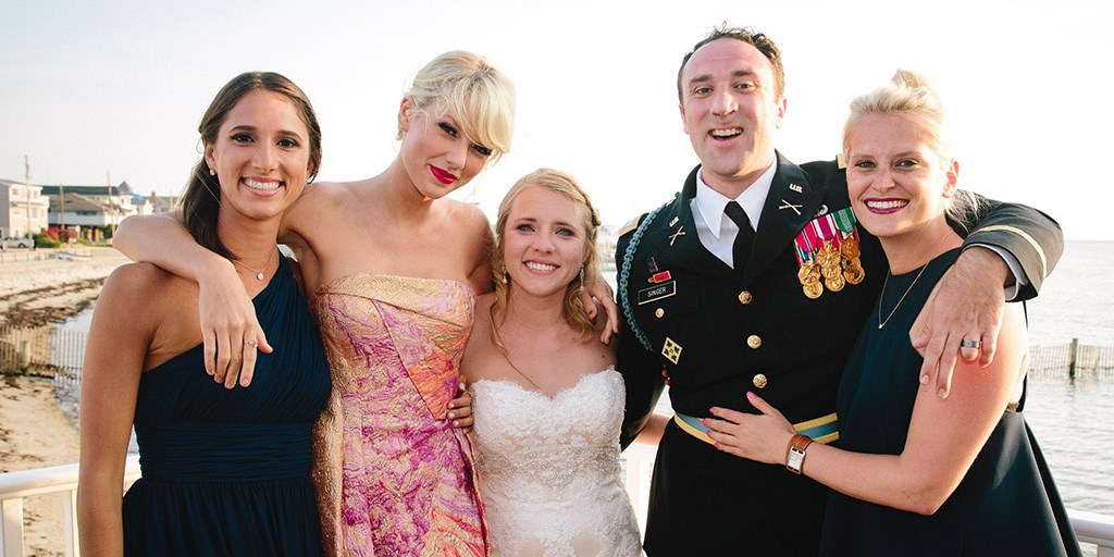8 Times Hollywood Celebrities Crashed Weddings To Perform The First Dance Song