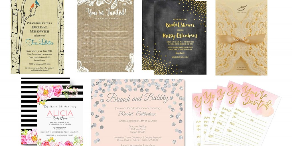 These Bridal Shower Invitation Ideas Are All You Need This Season!