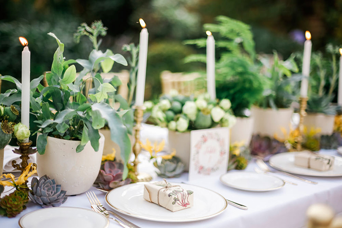 Go Green With A Botanical-Inspired Decor This Wedding Season
