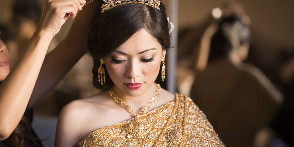 Weddings Around The World: All The Accessories A Cambodian Bride Can't Marry Without