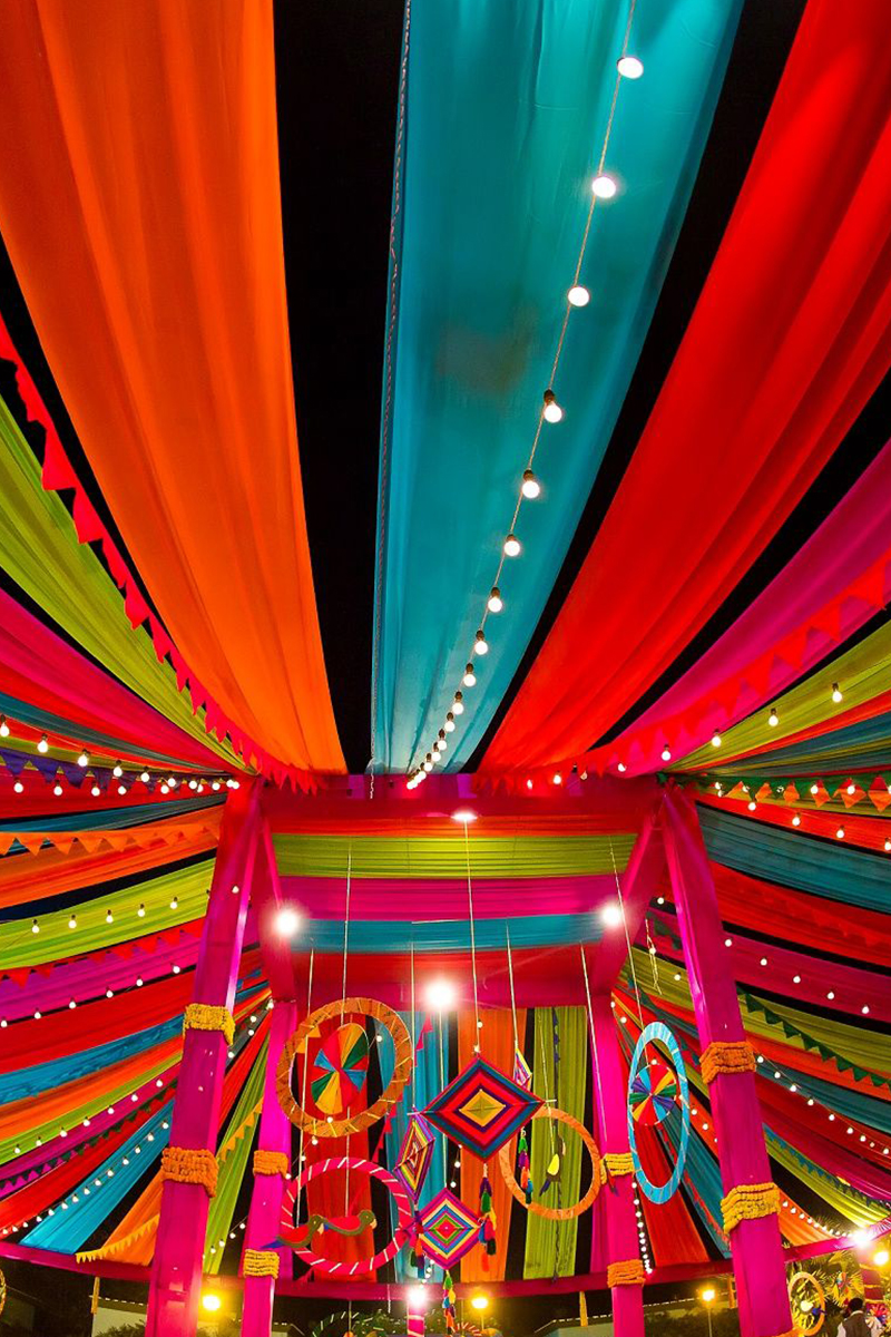 4.	Colorful Drapes