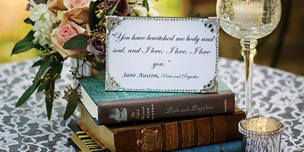 12 Creative Ways To Incorporate Love Quotes In Your Wedding Décor