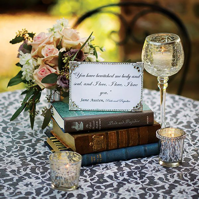 12 Creative Ways To Incorporate Love Quotes In Your Wedding Decor