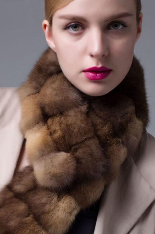 Sable Fur Stole